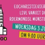 Eucharistieviering woensdag 3 juni 2020