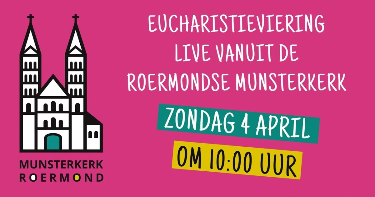 Eucharistieviering zondag 4 april 2021